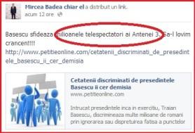 Badea facebook