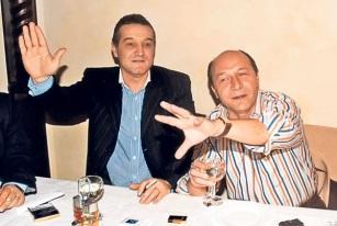 Președintele, la un șpriț cu Gigi Becali. Imagine rămasă în memoria politică a României…
