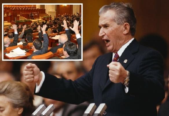"""1989 – 2015, arc peste timp: parlamentarii noștri preiau lozinca lui Ceaușescu despre """"neamestecul în treburili interni""""…"""